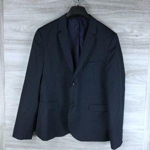 Topman Navy Suit Blazer